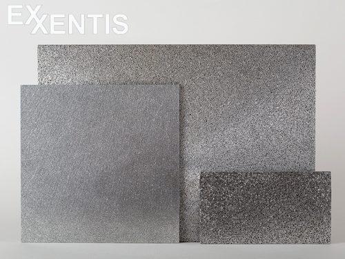 Platten aus poröses Aluminium anstatt Sinterplatten