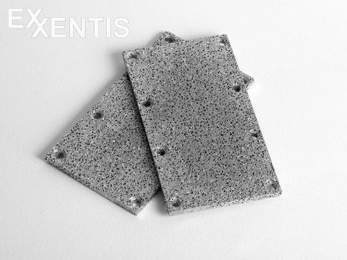Aluminium schaum Platten mit Bearbeitung