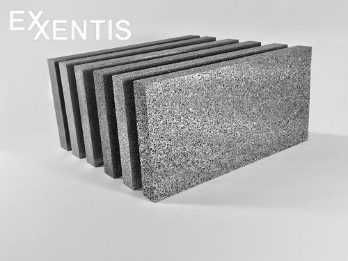 Aluminium schaum Platten mit grosse Dicke