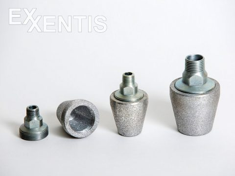 2-Poröses-Aluminium-statt-eines-Schalldämpfers-mit-Filz