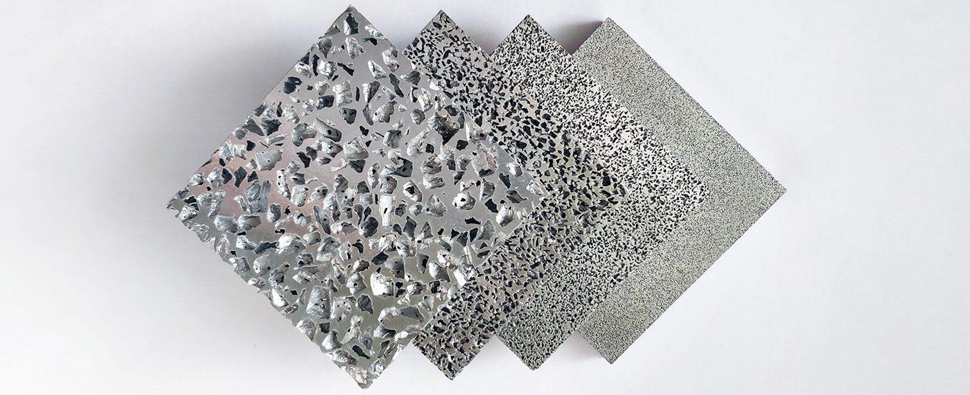 Poröses Aluminium als Option für Sintermetall