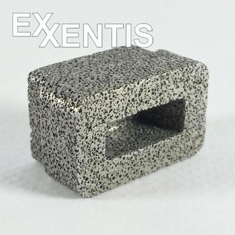 por ses aluminium im vergleich zu sintermetall poroses aluminium exxentis ag. Black Bedroom Furniture Sets. Home Design Ideas